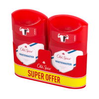 OLD SPICE Tuhý deodorant Whitewater 2 x 50 ml