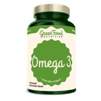GREENFOOD NUTRITION Omega 3 120 kapslí