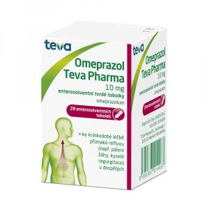 OMEPRAZOL Teva Pharma 10 mg 28 tobolek