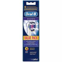 ORAL-B 3D White Náhradní kartáčkové hlavice 4 ks
