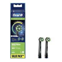 Oral-B EB 50-2 CrossAction Black náhradní hlavice s Technologií CleanMaximiser, 2 ks
