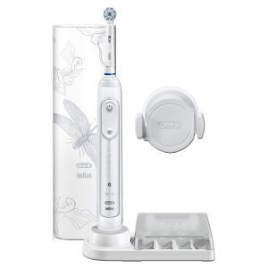 ORAL-B Genius 10000N Special Edition Lotus White Elektrický zubní kartáček