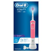 ORAL-B Vitality 100 3D White Pink Elektrický zubní kartáček