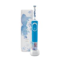 ORAL-B Vitality D100 Frozen II. dětský zubní kartáček + cestovní pouzdro