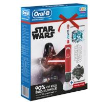 ORAL-B Vitality D100 Star Wars dětský zubní kartáček + cestovní pouzdro
