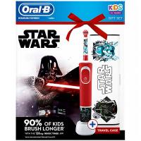 ORAL-B Vitality Kids Star Wars Dětský elektrický kartáček + cestovní pouzdro