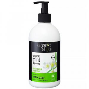 """ORGANIC SHOP Hydratační mýdlo na ruce """"Mátový jasmín"""" 500 ml"""
