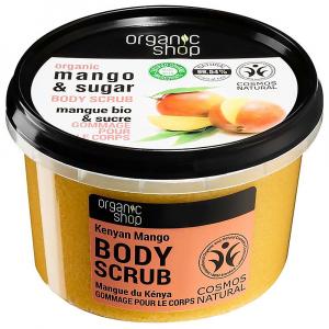 ORGANIC SHOP Tělový peeling Keňské mango 250 ml