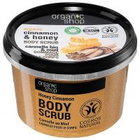 ORGANIC SHOP Tělový peeling Medová skořice 250 ml