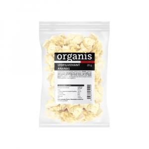 ORGANIS Ananas sušený mrazem kousky 200 g