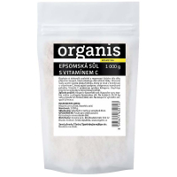 ORGANIS Epsomská sůl s vitaminem C 1000 g