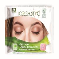 ORGANYC Bio vlhčené pleťové ubrousky 20 ks