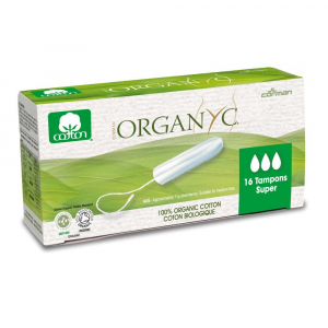 ORGANYC tampony z biobavlny SUPER 16 kusů