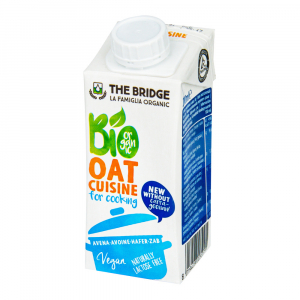 THE BRIDGE Ovesná alternativa smetany na vaření 200 ml BIO