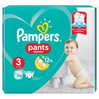 PAMPERS Pants CarryPack S3 Kalhotkové pleny 25 ks