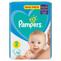 PAMPERS New Baby Vel.2 Dětské pleny 4-8kg  76 ks