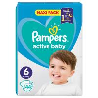 PAMPERS Active Baby Vel.6 Dětské pleny 13-18kg  44 ks