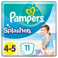 PAMPERS Splashers vel.4-5  9-15kg Kalhotkové plenky do vody 11 ks
