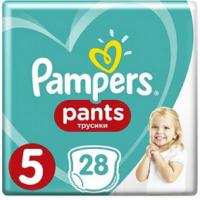 PAMPERS Pants 5 Plenkové kalhotky 15-17 kg 28 ks