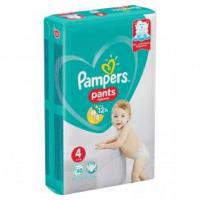 PAMPERS Pants vel.4 Plenkové kalhotky 9-15kg 30 ks