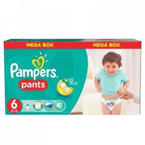 PAMPERS Pants 6 EXTRA LARGE 16+ kg 88 kusů