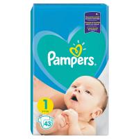 PAMPERS New Baby-Dry 1 Newborn 2-5 kg 43 kusů