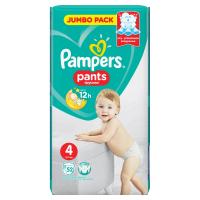 PAMPERS Pants vel.4 9-15kg Kalhotkové plenky 52 ks