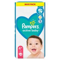 PAMPERS Active Baby vel.4+ Dětské plenky 10-15kg 54 ks
