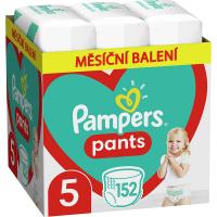 PAMPERS Pants vel.5 Plenkové kalhotky 12-17kg  152 ks
