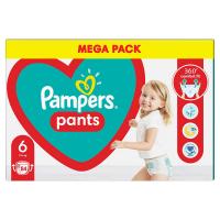 PAMPERS Pants vel.6 Plenkové kalhotky 15+kg 84 ks