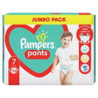 PAMPERS Pants vel.7 Plenkové kalhotky 17kg+ 38 ks