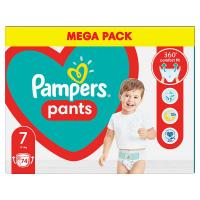 PAMPERS Pants vel.7 Plenkové kalhotky 17kg+ 74 ks