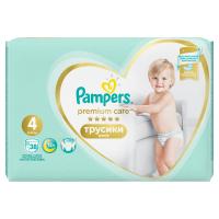 PAMPERS Premium Care Pants vel.4 Plenkové kalhotky 9-15kg  38 ks