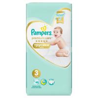 PAMPERS Premium Care Pants vel.3 Plenkové kalhotky 6-11kg  48 ks