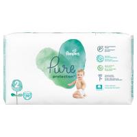 PAMPERS Pure Protect  Vel.2 Dětské pleny 4-8kg  39 ks