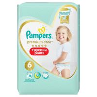 PAMPERS Premium Care Pants vel.6 Plenkové kalhotky 15+kg 18 ks