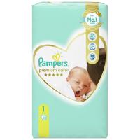 PAMPERS Premium Care Value Pack Minus vel.1 Dětské plenky 2-5kg 52 ks
