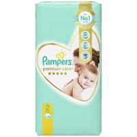 PAMPERS Premium Care Value Pack Minus vel.2 Dětské plenky 4-8kg 46 ks