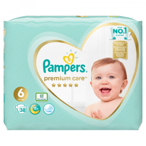 PAMPERS Premium Care vel.6 Value Pack 13+kg 38 ks
