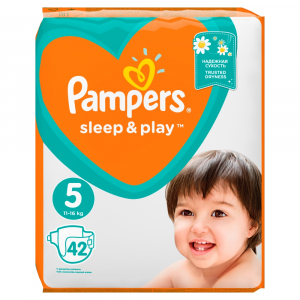 PAMPERS Sleep&Play 5 JUNIOR 11-16 kg 42 kusů