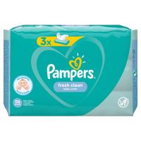 PAMPERS Vlhčené ubrousky Fresh Clean 3 x 52 ks