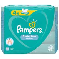 PAMPERS Vlhčené ubrousky Fresh Clean 4x52 ks