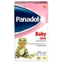PANADOL Baby rektální čípky 125 mg 10 kusů