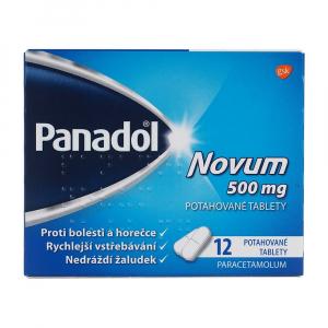 PANADOL Novum 500 mg 12 potahovaných tablet III