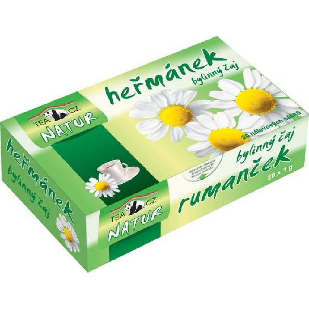 TEACZ Bylinný čaj Heřmánek 20 sáčků