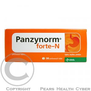 PANZYNORM forte - N  30 tablet