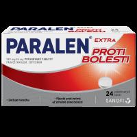 PARALEN Extra proti bolesti 500 65 mg 24 tablet
