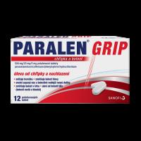 PARALEN GRIP Chřipka a bolest 500 mg 12 potahovaných tablet