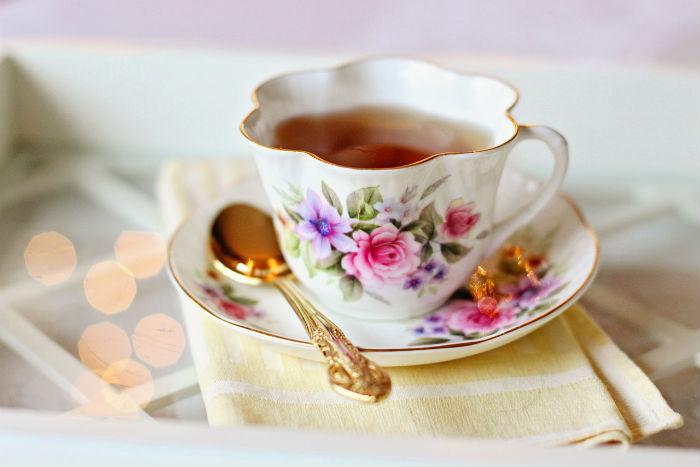 Pečený čaj - sladké pohlazení