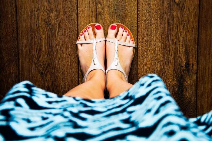 Pedikúra - krásné nohy nejen v létě